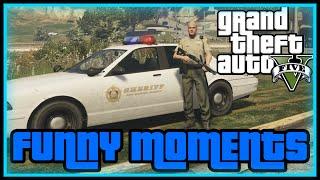 GTA 5 PÅ SVENSKA - SHERIFF!! (Funny Moments)