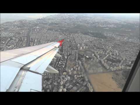 Canon PowerShot SX60 HS | Full Flight Austrian Airlines Tel Aviv (TLV) to Vienna (VIE)