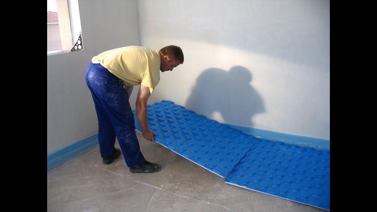 Instalacion de suelo radiante youtube - Suelo radiante parquet ...