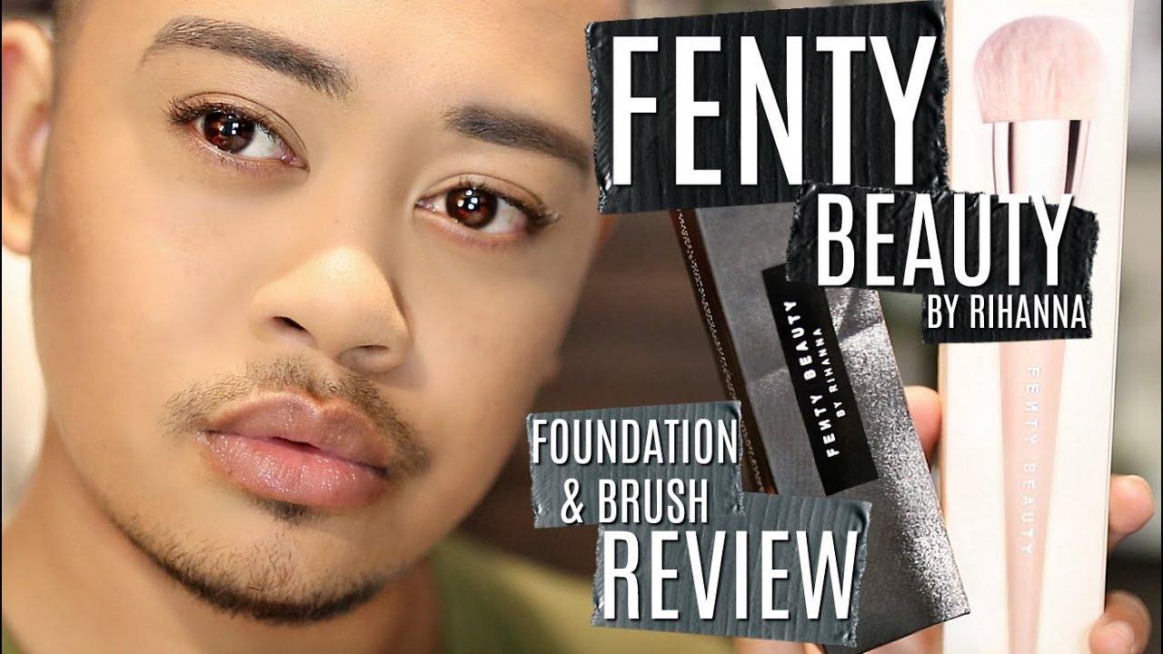 promo code 02982 4dae3 FENTY BEAUTY for men: PRO FILT'R FOUNDATION & 110 BRUSH REVIEW!!!