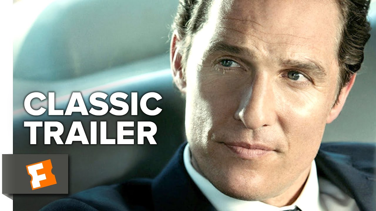 the lincoln lawyer 2010 official trailer matthew mcconaughey marisa tomei movie hd youtube. Black Bedroom Furniture Sets. Home Design Ideas
