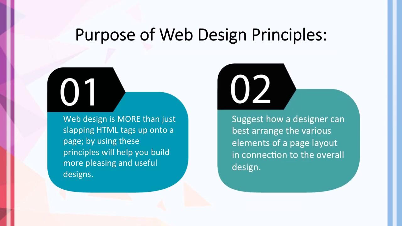 Principles Of Web Design Youtube