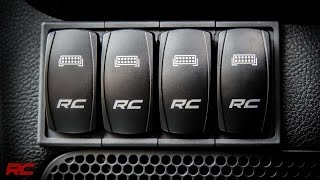 LED Backlit Rocker Switches & Switch Housing By Rough Country