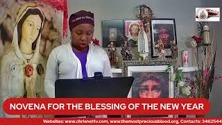 NOVENA FOR THE BLESSING OF THE NEW YEAR- (Day 6)