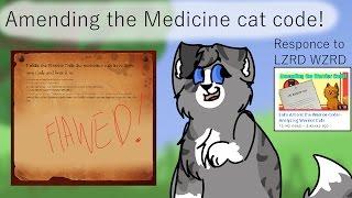 Amending the medicine cat code [Warrior cats analysis]