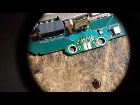 Reparación de puerto o entrada de carga Samsung Galaxy Ace 4 G313 (2a parte)