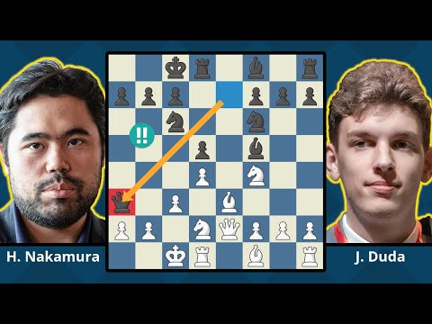 Duda Twice Sacs Queen - Defeats Hikaru Nakamura In 19 Moves | Speed Chess Championship