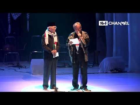 Duet Langka Puisi Gus Mus bersama Slamet Rahardjo