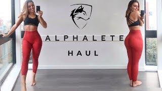 ALPHALETE HAUL 2019 - New Releases (Leggings, Sports Bras, Crop Tops, Hoodies)