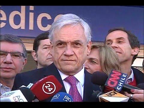 Sebastián Piñera acusó al ministro Díaz de faltar a la verdad
