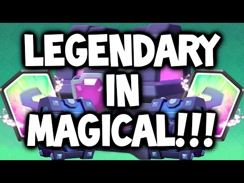"""Clash Royale ★ A """"LEGENDARY"""" IN """"MAGICAL CHEST"""" ★ """"MAGICAL CHEST ..."""