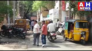 Cooler Manufactures & Retailers Protest Against  Traffic Police At Troop Bazar In Hyderabad