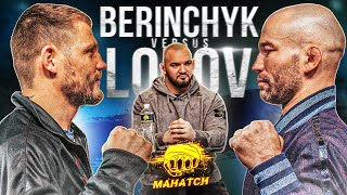 Lobov vs Berinchik. Press conference before the fight. Staredown / Mahatch (ENG SUB)