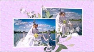 Свадебная фотопрогулка и фотосесия на яхте