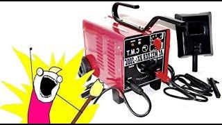 Como se repara una maquina de soldar en casa(#bicimotoszoids)