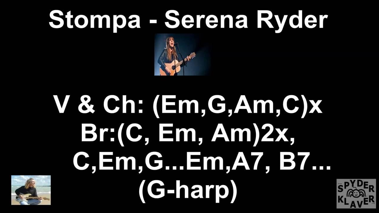 Stompa Serena Ryder Lyrics Chords Youtube