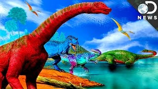 What Color Were Dinosaurs?