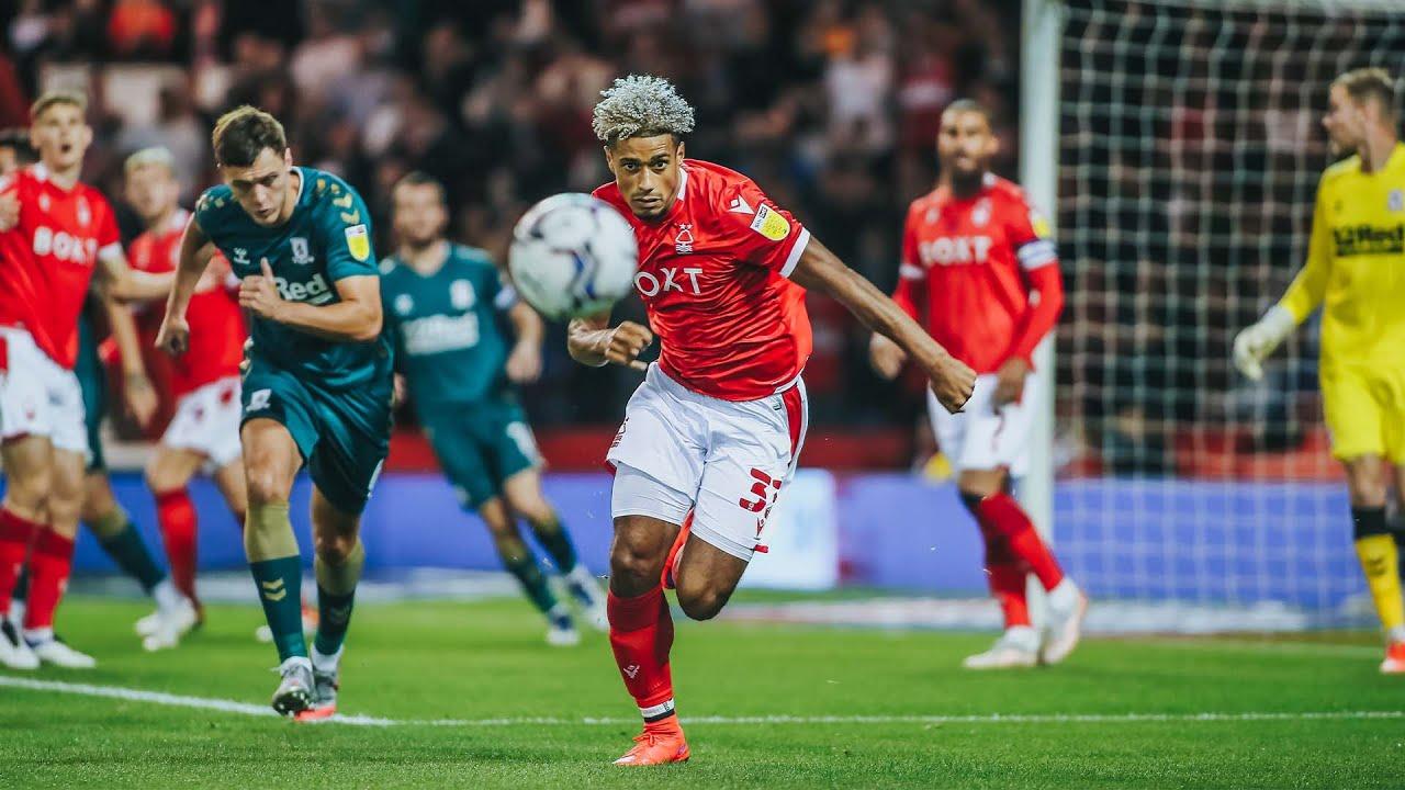 Šporar's first goal for Middlesbrough