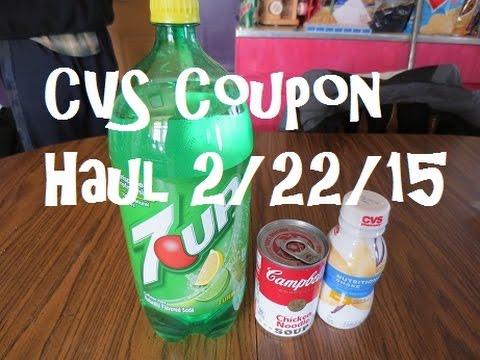 CVS Coupon Haul 2/22/15 ~ FREE Shake