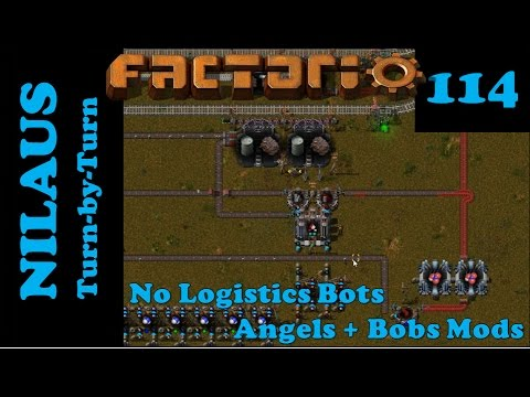 Factorio S6E114 - Uranium Power Concentrate Nitric Acid