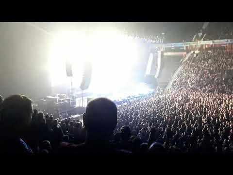 Slayer live at Manchester Arena 9th November 2018