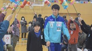 リオ五輪銀の吉村選手が母校の児童と交流 東海