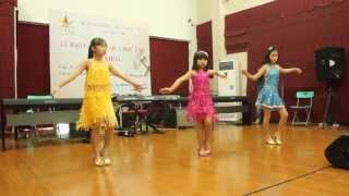 Bài báo cáo cuối khóa Dance Sport Thiếu Nhi 1