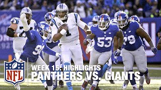 Panthers vs. Giants | Week 15 Highlights | NFL