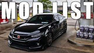 2018 Honda Civic Si Build Transformation