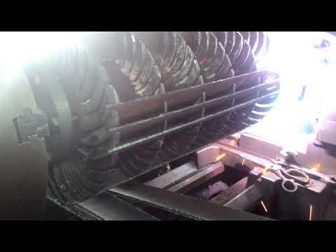 Assembling Blades on Runner: Cross Flow Turbine