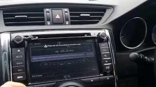 Обзор магнитолы Toyota Reiz/Mark X 2010 Winca C084