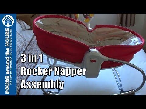Tiny Love 3in1 Rocker Napper Assembly, Overview & Demonstration.