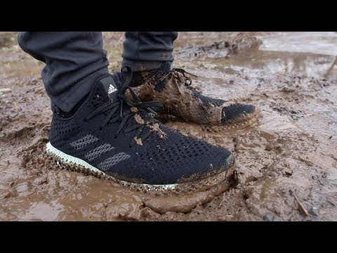 ADIDAS FUTURECRAFT 4D vs. MUD PUDDLE