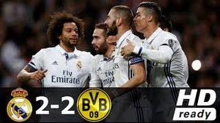 Real Madrid vs Borussia Dortmund 2-2 UEFA Champions League 2016-2017