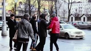 Помощь в драке  Русские VS Кавказцы социальный эксперимент  ChebuRussiaTV  social experiment