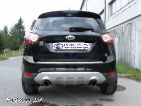 ford kuga 2 5l fox sportauspuff exhaust by fiese. Black Bedroom Furniture Sets. Home Design Ideas