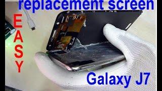 how to change screen samsung J700 Galaxy J7