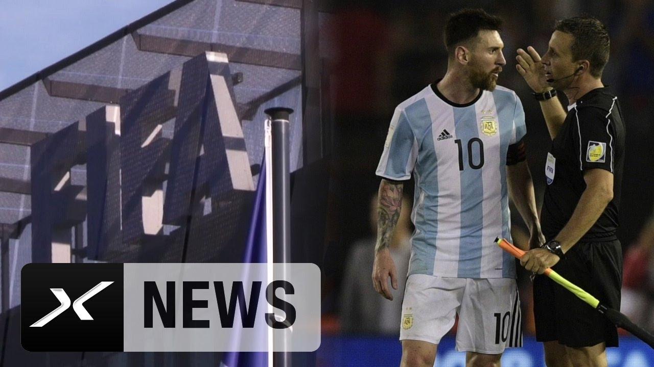 Messi Sperre Argentinien