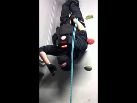 Curso Fast-Rope y Rappel C.A.O.E (En Nidec Defense) Marzo 2011