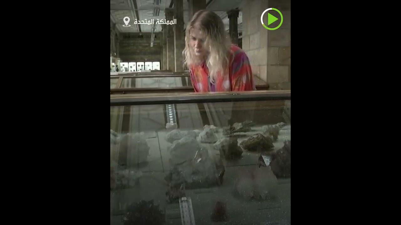 . نيزك عمره 4.5 مليار عام يعرض في متحف أعيد افتتاحه  - نشر قبل 3 ساعة