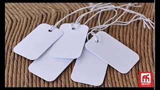 видео Изготовление картонных бирок