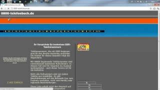 0800 Nummern Quelle - Funktioniert nicht mehr