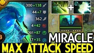Miracle- [Morphling] When Monster Full Agi + Max Attack Speed Build 7.21 Dota 2