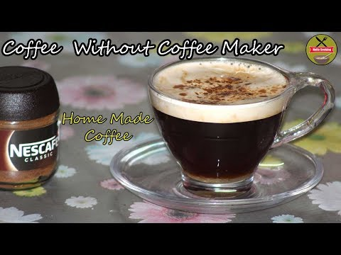 Black Coffee Without Coffee Maker  Home made coffee   Easy & Quick Recipe   HELLO COOKING