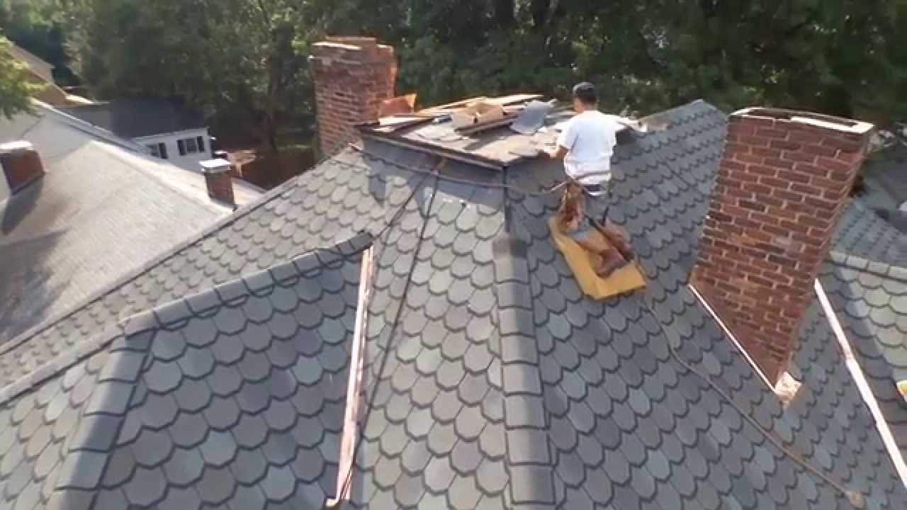 Designer Shingle and Copper Valley Installation on Luxury Home YouTube – How To Install Roof Shingles In A Valley