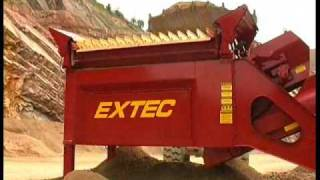 Video still for Extec Fintec S4 Double Screen Aggregate