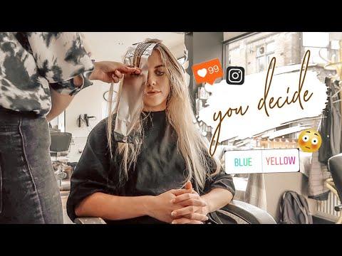 INSTAGRAM CHOOSES MY NEW HAIR | WEEKLY VLOG
