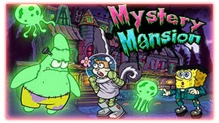 Nickelodeon Mystery Mansion - Spongebob Games