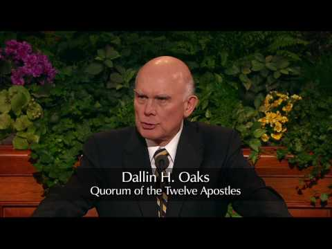 Elder Dallin H. Oaks - Healing the Sick