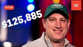 2020 WSOP Main Event Final Table: 8th Place Gershon Distenfeld